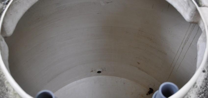 恒例の井戸タンク掃除