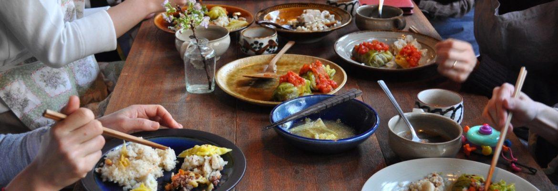『野菜と豆と雑穀のにわか料理教室vol.62』4月開催