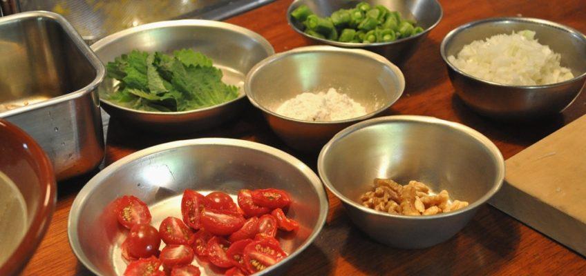 『野菜と豆と雑穀のにわか料理教室vol.77』9月開催